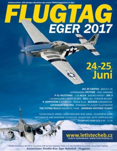 Flugtag Eger 2017 Flyer